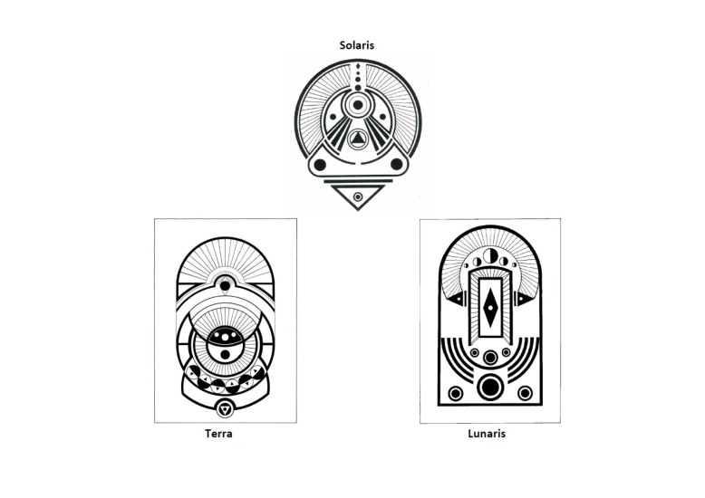 Simbolos Água Matriz